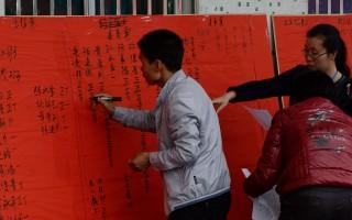 逾千乌坎村民抗议 吁释放村长归还被征土地