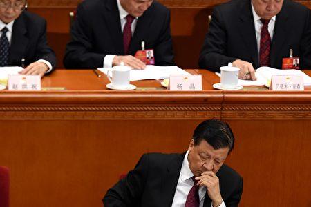 主管宣传领域的中共常委刘云山被外界认为处境不妙。图为刘云山2016年3月5日在北京两会上。 (WANG ZHAO/AFP/Getty Images)