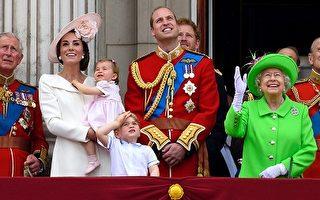 英女王90大寿阅兵 一身萤光绿好吸睛
