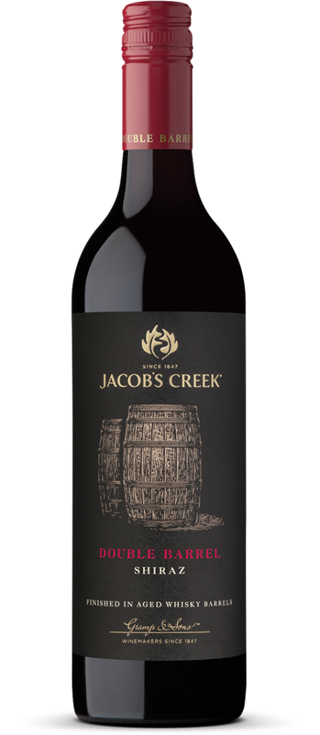 Double Barrel Shiraz (Jacob's Creek官网图片)