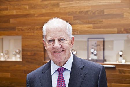 Dieter Blome先生(德國博門錶店提供)