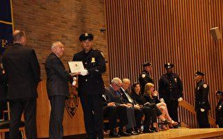 紐約市警局晉升禮 多名華裔警員升職