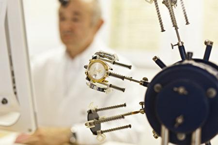名錶認證的專業製錶工坊(德國博門錶店提供)