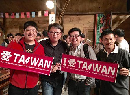 楊力州導演的《我們的那時此刻》將隨著洪馬克至溫哥華台灣電影節進行加拿大首映。(洪馬克提供)
