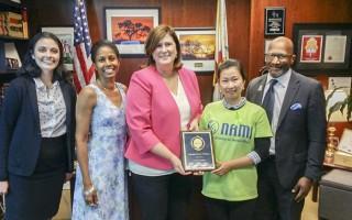 加州華人祝賀今年7月成為「少數民族精神健康月」