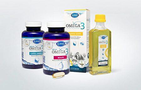 利思利喜Omega-3產品系列。(Lysi提供)