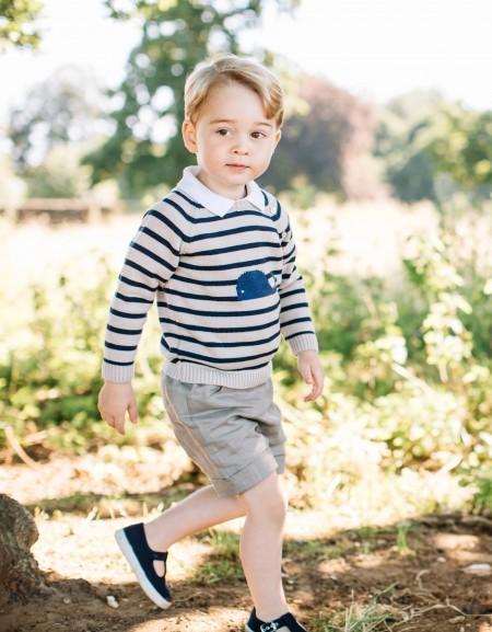 喬治王子3歲了。(圖取自Matt Porteous臉書網站www.facebook.com/mattporteousphotos)