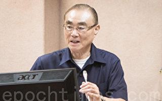 国防部长冯世宽7日表示,已要求各级部队全力投入灾防整备工作,并持续密切掌握台风行进动态。(陈柏州/大纪元)