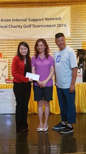 善長仁翁Cathy Li (RBC))及Mary Zhang (Fidelity Investments)合共捐出1,000元(主辦方提供)