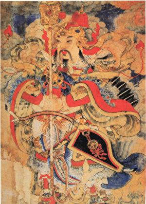 秦瓊年畫。(公有領域)