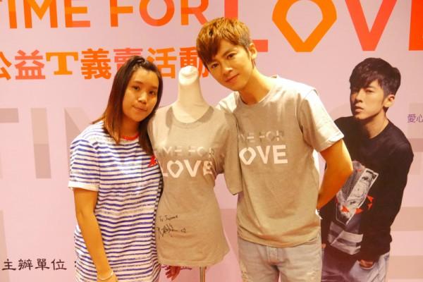 李國毅助寒士 設計T恤供愛心競標