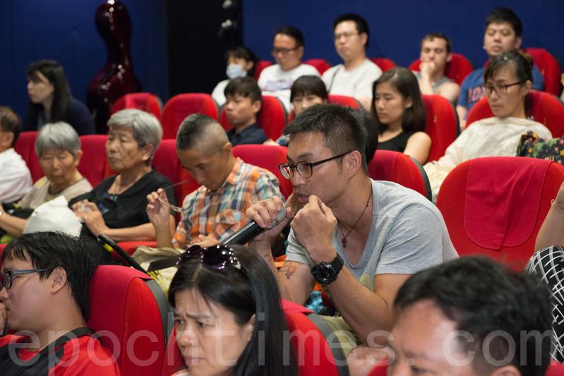 榮獲多項國際大獎的紀錄片《活摘》,由加拿大華裔導演李雲翔費時8年拍攝,日前在台北國賓戲院長春影城舉行中文版全球首映式。(王仁駿/大紀元)