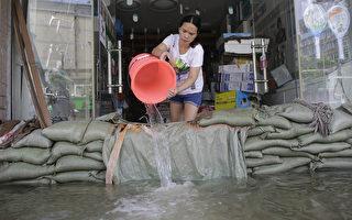 组图:十张图片看中国南方水灾