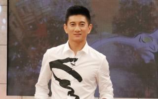 艺人吴奇隆昨(12)日特别上节目《SS小燕之夜》宣传新戏《蜀山战纪》。(中天提供)
