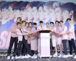 SpeXial 2016全新专辑【Boyz On Fire】预购记者会于2016年7月19日在台北举行。(黄宗茂/大纪元)