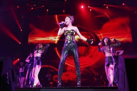 張韶涵全新造型+延伸舞台,滿滿驚喜回饋「家鄉場」臺北。(IMC Live Group提供)