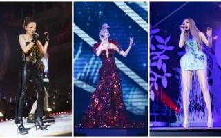 歌手張韶涵7月23日晚在台北小巨蛋舉辦「純粹」 世界巡迴演唱會。(IMC Live Group提供)
