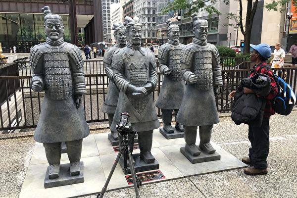 秦始皇兵馬俑「周遊」芝加哥