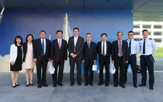 台国研院率团参访美国卫星发射公司