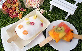 韩系棉花糖冰PK义式雪糕 台甜美尝鲜