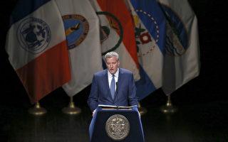 幕僚頻繁辭職 紐約市長白思豪稱:正常