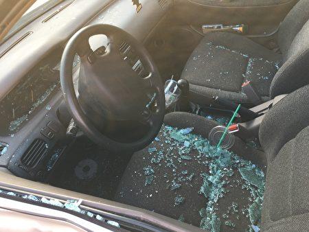 被撞車輛。
