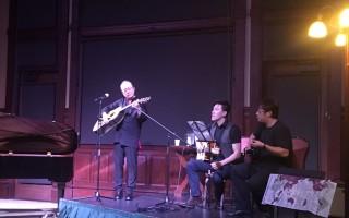 莫漢克藝術節 周興立唸唱中國古詩