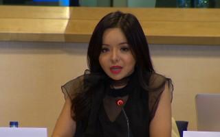 加拿大世界小姐欧洲议会揭中共强摘器官
