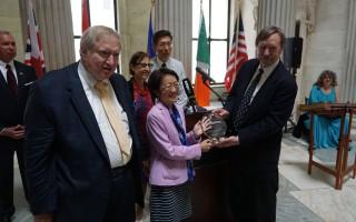 紐約市議員陳倩雯 獲漢密爾頓移民成就獎