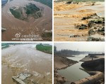 引發大賢村悲劇的七里河,曾在過去十年間曾投入數十億「開發建設」,被網民指納稅人的錢就這樣付之東流了。(網絡圖片)
