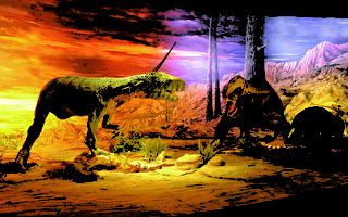 BBC趣闻 恐龙叫声跟鸟一样 咕咕低鸣