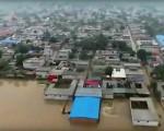 河北邢台洪水灾情(视频截图)