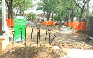 艾姆赫斯特翻修公園 兒童遊玩更安全