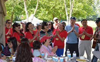 溫哥華闔家歡聯誼會舉辦野餐大會