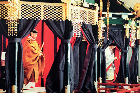 日本眀仁天皇於1989年即位。(GettyImages)