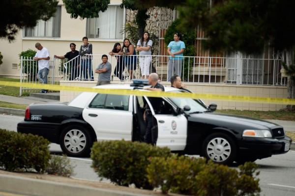 洛杉磯市今年犯罪率再次上升