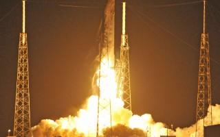 SpaceX猎鹰9号火箭升空 陆上回收二度成功