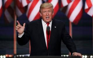 川普揮汗演講 誓言重建「美國第一」