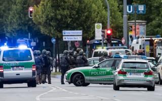 组图:慕尼黑枪击案10死 全城进入紧急状态