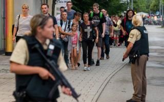 慕尼黑枪击 一名枪手开枪爆头自杀