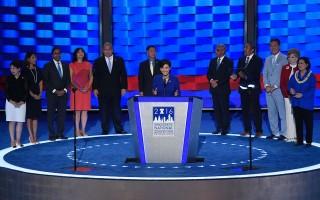 希拉里教育移民政策承诺吸引亚裔助选
