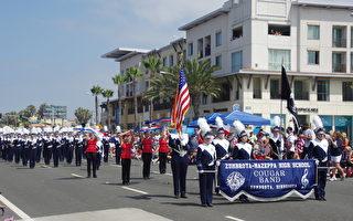 组图:加州举行盛大独立日游行