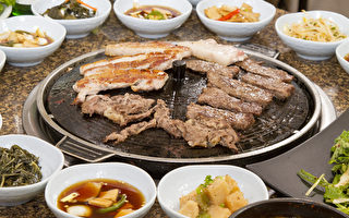 韓國烤肉Gaboja的脆皮五花肉