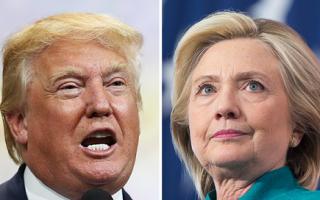 川普希拉里民調差距縮小 首場辯論紐約對決