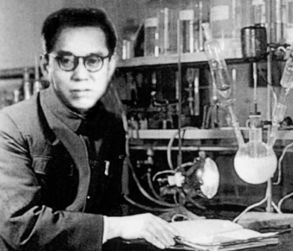 中国著名化学家纪育沣先生。(纪晓峰提供)