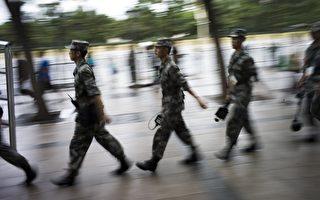 港媒披露,中共上将田修思被调查,只是军中反腐第二波的开始,中共前军委委员廖锡龙、李继耐也已岌岌可危;还有逾二百将领被列入军纪委黑名单。( FRED DUFOUR/AFP/Getty Images)