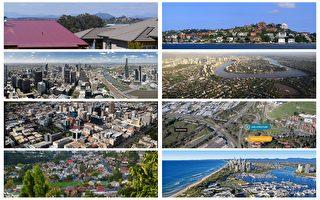 澳洲房價55萬以下區更新排名