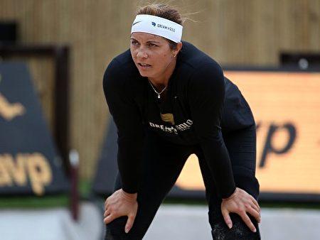 美国排球队员米斯蒂•梅—特雷纳(Misty May-Treanor)。(Chris Graythen/Getty Images)