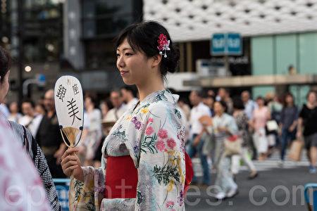 東京盛夏風物詩 穿浴衣漫步銀座