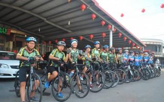 育幼院小勇士单车环岛 体验云林渔村生活